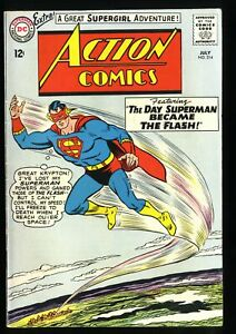 Action Comics #314 FN/VF 7.0 White Pages