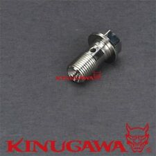 "Banjo Bolt 7/16""-24 w/ 1.0mm Hole For GARRETT GT25R / GT28R / GT30R Ball bearing"
