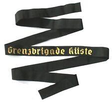 DDR NVA EAST GERMAN NAVY GRENZBRIGADE BORDER GUARD CAP TALLY