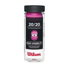 New listing Wilson 20/20 Racquetball 3 Ball Can, Pink