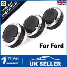 UK AC Heater Aluminium Switch Control Knob For Ford Focus MK2/3 Mondeo C/S-max