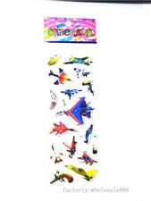 1sheet airplane Paper Stickers lot kids favor holiday party Xmas gift Birthday