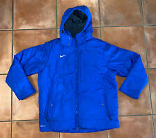 Men's Nike Storm Fit Royal Blue Full ZIP Removable Hood Winter Jacket Sz XXL