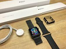 Apple Watch Series 3 42mm Space Grey - Apple Warranty & SM Milanese Band/ Case