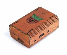Raspberry Pi B+ Pi3 FlexPi Case (Red Raspberry) ~ C4Labs
