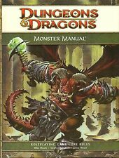 DONJONS & DRAGONS-d&d - Monster Manual-Core Rulebook-RPG - (HC) - ENGL. - New-Very Rare