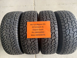 4 X 265 65 17 Hankook Dynapro Atm %99.99 Tread Fitting Available, Freight