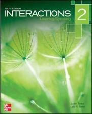 Interactions Level 2 Listening/Speaking Student Book Plus Registration Code...
