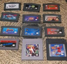 Mixed Gameboy Advance and Original GB Games Lot