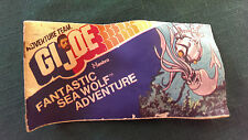 Gi Joe 1975 Hasbro Comic Book Giveaway - Fantastic Sea Wolf Adventure