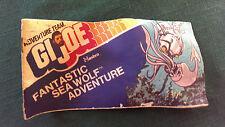 GI Joe 1975 Hasbro Comic Book Giveaway - Fantastic Sea Wolf Adventure