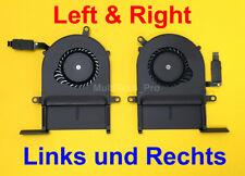 "Kühler Lüfter Ventilator Apple MacBook Pro 13"" Retina A1425 Links + Rechts FAN"
