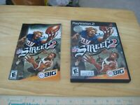 NFL Street 2 (Sony PlayStation 2, 2004) VG++ Manual included!