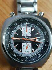 ESKA Bullhead Automatikuhr NOS-Style - schwarz - Edelstahlarmband - watch