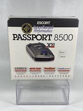 NEW ESCORT PASSPORT 8500 X50 Radar Laser Detector New In Box