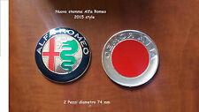 2 Stemma ALFA ROMEO MITO GIULIETTA  147 156 159 Logo Fregio Anteriore Posteriore