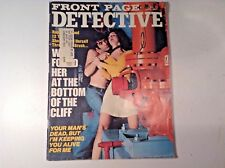 Vintage Front Page  Detective Magazine-April. 1975- Rape Victim-Slasher -Murder