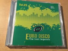 CD Euro Disco - The Lost Legends vol.25 (limited edition: only 100 copies)