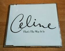CELINE DION That's the way it is ULTRA RARE AUSTRIA PROMO CD SINGLE UNIQUE COVER