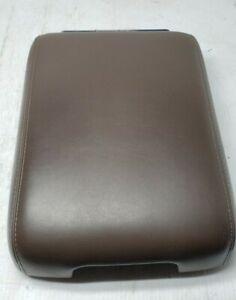 13 14 15 Infiniti JX35 QX60 Center Console Armrest Storage Bin Lid Cover Brown