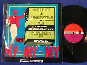 OTIS REDDING DICTIONARY SOUL ORIG UK MONO 587050 LP EXC