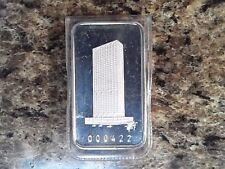 First Wisconsin Center Switzerland 1 oz .999 fine silver art bar - low serial