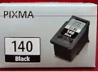 PG-140 XXL 1PACK Black Pixma for Canon Black Ink MG2110 MG3110 MG3210 MG4210