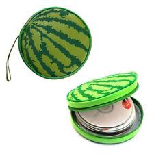 Cute Creative Watermelon Shape CD DVD Case Storage Bag Box