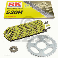 Kit de Cadena Kymco MXU 50 09-14 Cadena RK Ly 520H 86 Abierto Amarillo 14/30