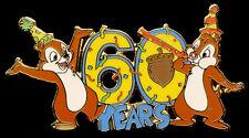 Walt Disney World Chip & Dale 60 Years Pin LE 3000