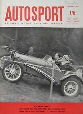 AUTOSPORT magazine 4/12/1959 Vol.19, No.23