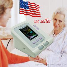 USA Digital color Arm Blood Pressure Monitor Heart Beat Meter Machine Tonometer