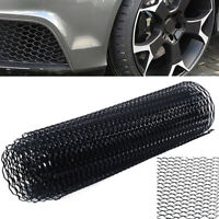 "40x13"" Car Auto Black Grille Mesh Net Sheet Aluminum Rhombic Grill Universal"