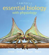USED (GD) Campbell Essential Biology with Physiology (5th Edition) by Eric J. Si