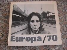 EUROPA 70 FOTOGRAFIA BERGAMO CATALOGUE PHOTOBOOK BERENGO GARDIN LUCAS SAUDEK