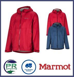New Marmot Winter AW20 Mens PreCip Eco Plus Classic Waterproof Windproof Jacket