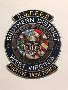 US Marshal Service Southern District West Virginia Fugitive Task Force Patch