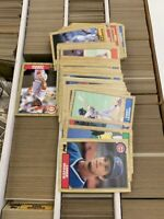 HUGE 2500 + 1987 TOPPS BASEBALL CARD LOT PARTIAL SETS FREE SHIPPING !