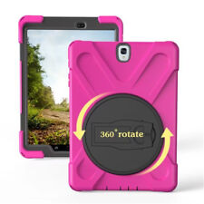 Hybrid Shockproof Hard Case Tablet Cover For Samsung Galaxy Tab A/E 8.0 9.7 10.1
