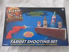 Wild West Shooting Gun Toys Virtual Infrared Beam Shooting Game Set Cowboy