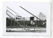 Cristiani Wallace Circus - Vintage Snapshot Photo - Various Circus Equipment