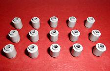 Lego (3062b) 15 Rundsteine 1x1x1, in hellgrau aus 4954, 5767, 7189, 5893