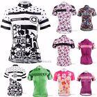 2016 Women Bike Shirt Sportwear Cycling Jersey Bicycle Short Sleeve Clothing Top