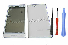Fascia Housing Back Battery Cover + Tools For S. Eric  Xperia Go ST27i White