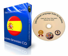 LEARN TO SPEAK SPANISH LANGUAGE BASIC - COMPLETE AUDIO DVD OVER 80 HOURS