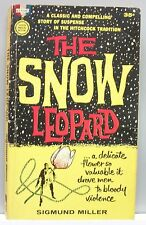 THE SNOW LEOPARD by Sigmund Miller VINT PB gc Mystery 1st printing Violence