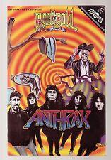 Anthrax - Rock-N-Roll Comic Book! Rare!
