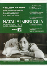 NATALIE IMBRUGLIA Wishing TRADE AD POSTER for Left CD