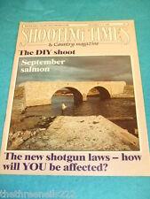 SHOOTING TIMES - SEPTEMBER SALMON - SEPT 8 1988