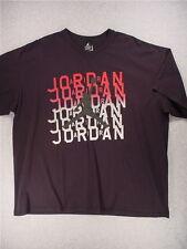 Air Jordan VINTAGE 1990's Nike Short Sleeve JUMPMAN T-Shirt (Men's XXL) Black